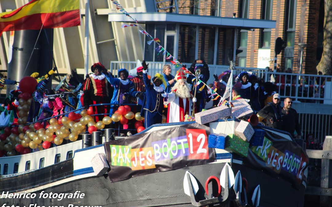Wanneer komt Sinterklaas naar Zwolle?